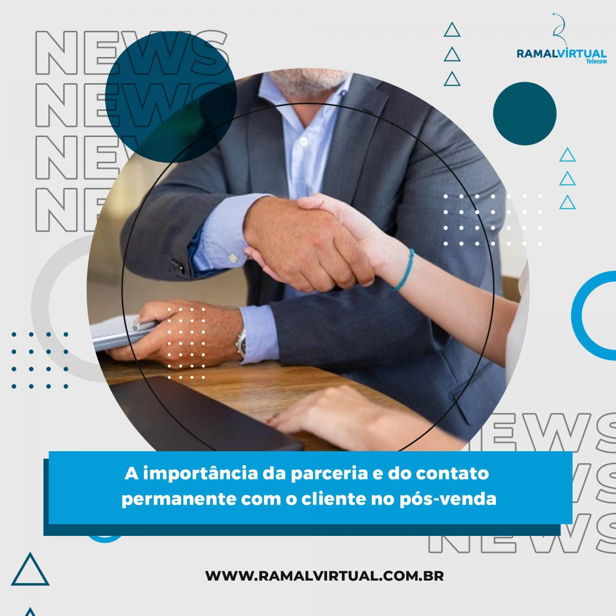 [A importância da parceria e do contato permanente com o cliente no pós-venda]