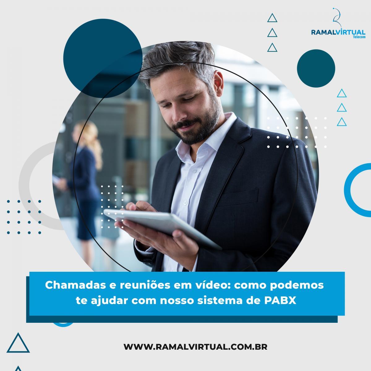 [Chamadas e reuniões em vídeo: como podemos te ajudar com nosso sistema de PABX]