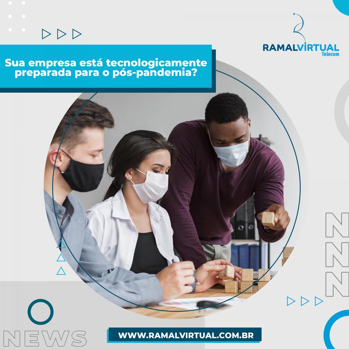 [Retomada: sua empresa está tecnologicamente preparada para o pós-pandemia? ]