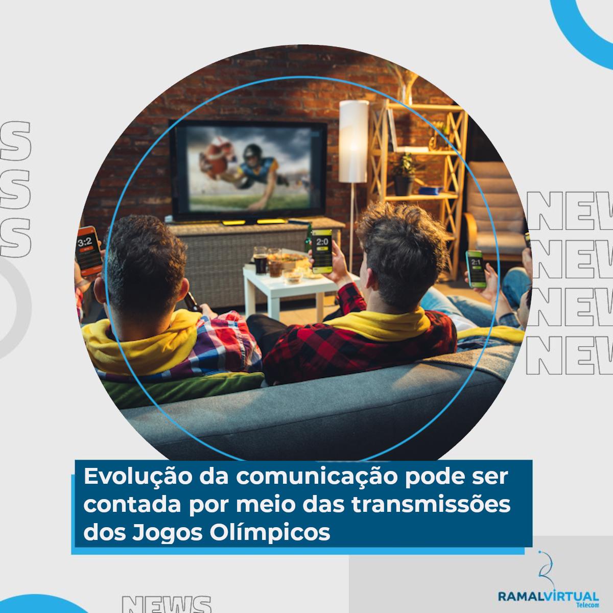 [Evolução da comunicação pode ser contada por meio das transmissões dos Jogos Olímpicos]
